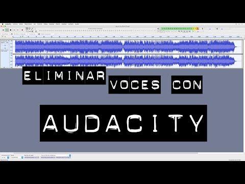 Como eliminar las voces en un archivo de música con Audacity
