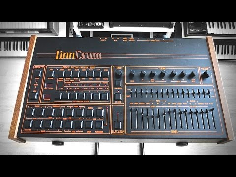LinnDrum (1982) Building a Drumbeat - Genesis Mama