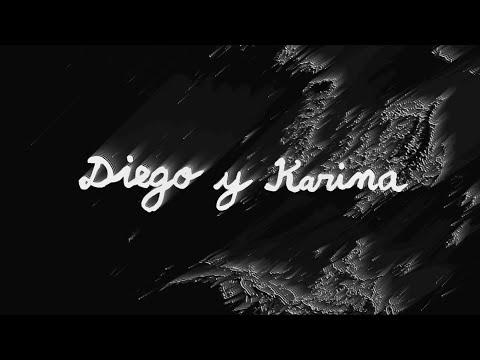 Perro Fantasma - Diego y Karina (Video Lírico Oficial)