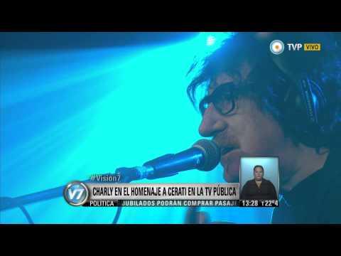 Visión 7 - Charly y Benito en el tributo a Cerati, el 22 por la TV Pública