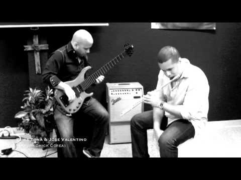 "'Spain"" featuring Elias Tona & Jose Valentino (Bass & Flute Duo)"