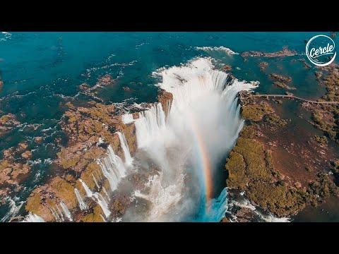 Nicola Cruz live at Iguazú Falls in Argentina for Cercle