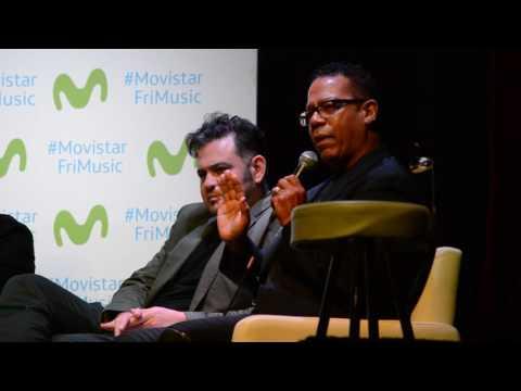 Carlos Alomar habla sobre Gustavo Cerati y David Bowie | Conferencia Movistar FRI Music 11-11-2016