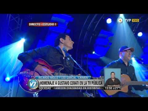 Visión 7 - Homenaje a Gustavo Cerati en la TV Pública (3 de 3)