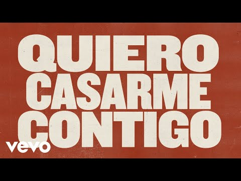 Arde Bogotá - Quiero Casarme Contigo (Lyric Video)