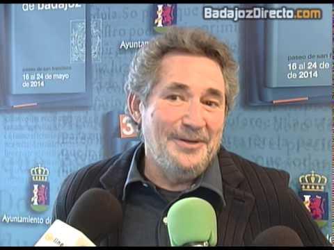 Miguel Ríos presenta sus memorias en la 33ª Edición de la Feria del Libro de Badajoz