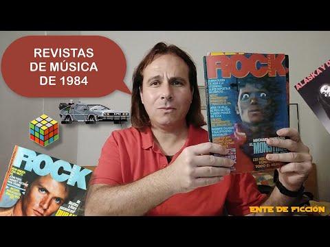 Revista Rock EspeZial # Revista Rock de Lux # Años 1984 - 1985 # Revistas de música