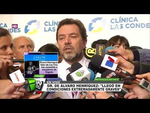 Este es el parte médico de Álvaro Henríquez tras ser trasplantado del hígado