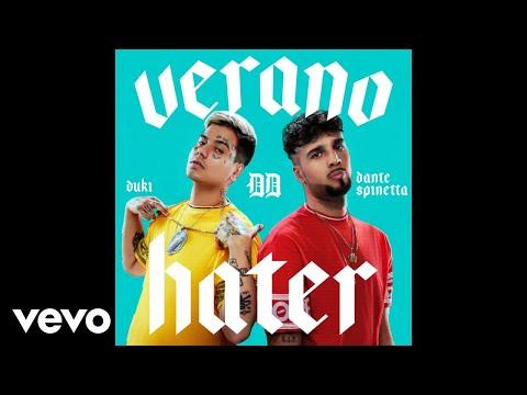 Dante Spinetta, Duki - Verano Hater (Official Audio)