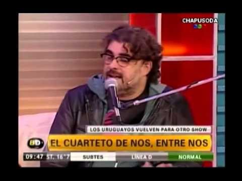 Cuarteto de Nos habla sobre GUSTAVO CERATI // Programa Baires Directo (28.05.2013)