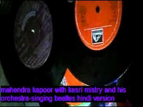 mahendra kapoor singing beatles.mpg